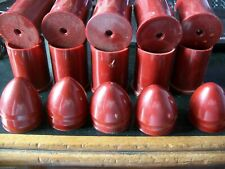 6pc- 37mm Casing Hulls and Nose Cones For Flare Gun