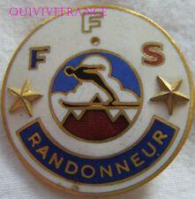 SK1548 -  INSIGNE badge FEDERATION FRANÇAISE DE SKI - 2eme ETOILE RANDONNEUR