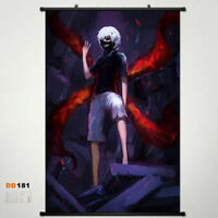 Hot Tokyo Ghoul Wall Poster Wallscroll Stoffposter Anime Home Decor16*24inch