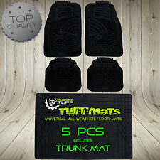Shell Style FORD Floor Mat 5pc SET TRUNK COVER Escort Mustang Probe Taurus Focus