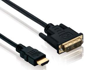 High Speed HDMI DVI Kabel vergoldet; 5m