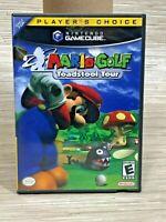 Nintendo GameCube Mario Golf Toadstool Tour Video Game Players Choice Tested