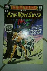 All-Star Western #1 (Aug-Sep 1970, DC), VG condition, Pow-Wow Smith