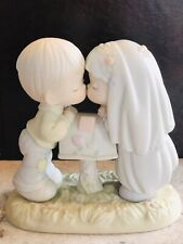 Precious Moments Sealed With A Kiss Figurine