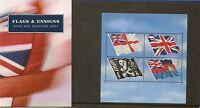 GB Presentation Pack M06 2001 Flags & Ensigns Stamps Miniature Sheet