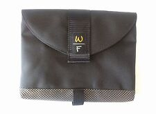 """Waterfield SF Bags 11.5"""" Tablet Sleeve Black/Check Canvas Horizontal Open Flap"""