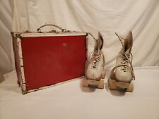 Vintage Chicago Roller Skate Betty Lytle by Hyde Leather, Size 6.5, Wood Wheels