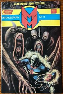 Miracleman (1985 Series) #11 Original Eclipse Comics 1st Printing Alan Moore