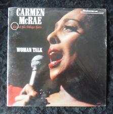 Carmen McRae Woman Talk- Live At The Village Gate 1966 Mono Jazz Vocal LP  MINT