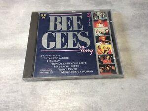 CD Bee Gees Story 20 Titres Versions Originales DISC COMPACT DIGITAL AUDIO