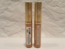 Pacifica- Lot Of 2 Liquid Cover Full Coverage Lasting Concealer - 14 Neutral Med