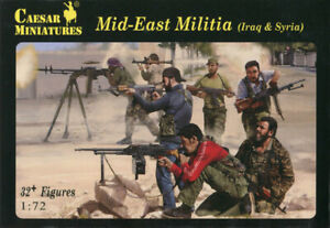 Caesar Miniatures 1/72 101 Mid-East Militia (Iraq & Syria) (32 Figures)