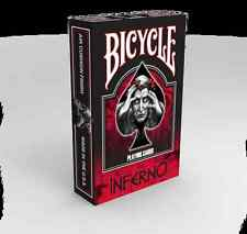 CARTE DA GIOCO BICYCLE THE INFERNO,poker size