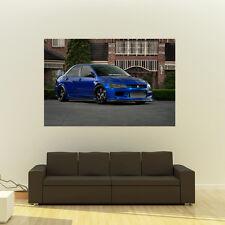 Poster of Mitsubishi evo Widebody Giant HD Huge 54x36 Inch Print 137x91 cm
