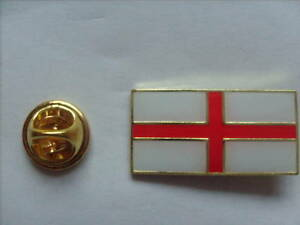 5 ST.GEORGES ENGLAND PIN BADGES