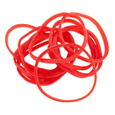 Bag of 1/4 Lb Premium #12 RED Rubber Bands for Tattoo Machines Pound