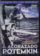 Sergei M. Eisenstein: EL ACORAZADO POTEMKIN (clásico del cine mudo de la URSS)