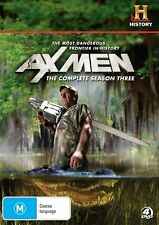 Ax Men : Season 3 (DVD, 2011, 4-Disc Set) - Region 4