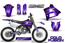 YAMAHA YZ125 YZ 125 2 STROKE 1991-1992 GRAPHICS KIT CREATORX DECALS CFPR