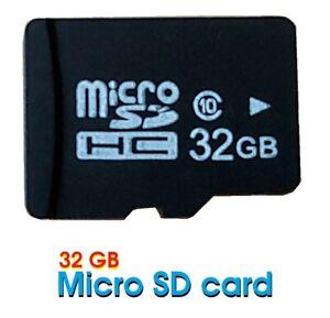 Micro SD HC 32GB MicroSDHC 32GB Memory Card,  Phone Camera Nintedo Drone GoPro