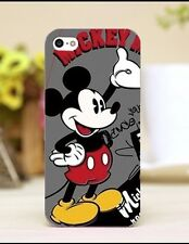 Vintage Retro Mickey Mouse Phone Case For iPhone 5/5s Or SE. Hard Plastic. Xmas