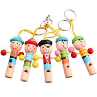 Baby Kids Wooden Toy Mini Whistle Pirates Developmental Toy Musical Toys #8Y