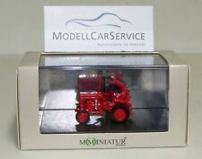 mo-miniatur 1/87 (H0) 20060 : Tractor Viaje D 15 , rojo, con barra de corte