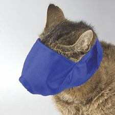 Guardian Gear Lined Cat Muzzle Blue - Over 12 lb - Large
