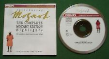 Introducing Mozart Complete Edition H/Lights 19 Complete Movements & Arias CD