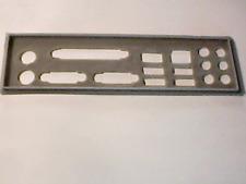 i/o shield plaque arriere en PLA pour ECS MCP61SM-AM