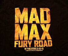 MAD MAX FURY ROAD movie SHIRT large Charlize Theron Tom Hardy Oscar winner