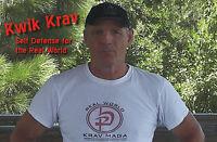 """""""KWIK KRAV III"""" Krav Maga Self Defense for those with No Time to Train DVD"""