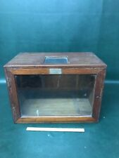 Antique Cambridge & Paul Instrument Co. Of America ~ Case ~ Edison Tesla Era N.Y