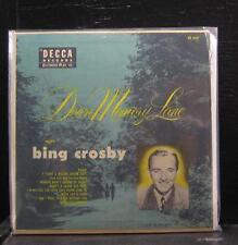 "Bing Crosby - Down Memory Lane Vol 1 EP VG+ 2x7"" Vinyl 45 USA 1954 Decca ED 622"
