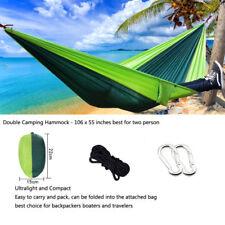 Camping Hammocks Garden Ultralight Portable Nylon Parachute Multifunctional Xl