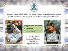 Bowman Chrome 2019 Baseball Hobby Case - 12 Boxes