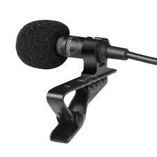 Professional Lavalier Lapel Microphone Metal Clip Type-C/3.5mm YouTube Recording