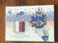 C2126 MARQUISE GOODWIN 2013 TOPPS PATCH RELIC RC BILLS