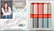 Aurifil Thread 50 wt Cotton 10 small spools - Nest by Lella Boutique
