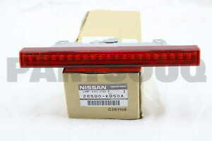 26580KB50A Genuine Nissan LAMP ASSY-FOG,REAR 26580-KB50A