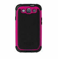 Ballistic Samsung Galaxy S3 Tough Jacket Series Case SG0930-M365 Black/Hot Pink