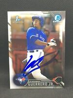 2016 Bowman Chrome Vladimir Guerrero Jr Auto rookie. Mint.