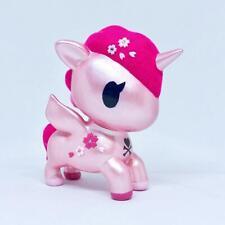 """Nebby Art EMC Custom Tokidoki 5"""" Inch Unicorno Florallina Metallic Pink Sakura"""