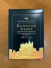 Downton Abbey Collectable Playing Cards ~ Motion Picture Event Promo Cards ~ NEW