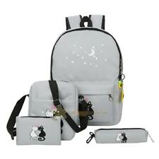 Fashion Women Canvas School Bag Girls Backpack Travel Rucksack Shoulder Bags Lot