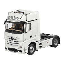 MERCEDES BENZ TRUCK ACTROS FH25 GigaSpace Articulated Lorry White 1:18 NIP NZG