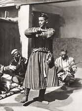 1934 Vintage 11x14 ASIA ~ Uzbekistan Turkic Folk Dance Costume Fashion Photo Art