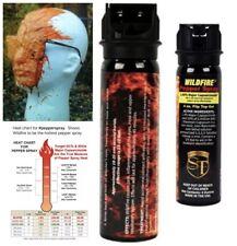 WILDFIRE HOTTEST! STICKY Pepper GEL Spray 1.4MC Fliptop 4 oz Home SELF DEFENSE