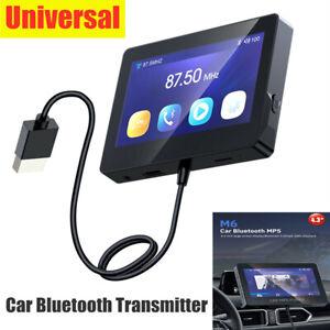 4.3'' Universal Car Bluetooth Transmitter GPS Navigation MP5 Player LCD Monitor
