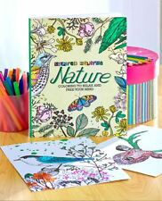 Adult Coloring Book - Nature (Inspried Coloring)